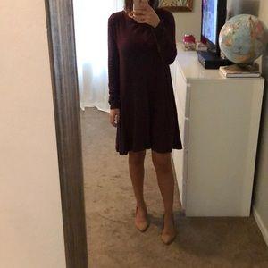 Garnet long sleeve dress
